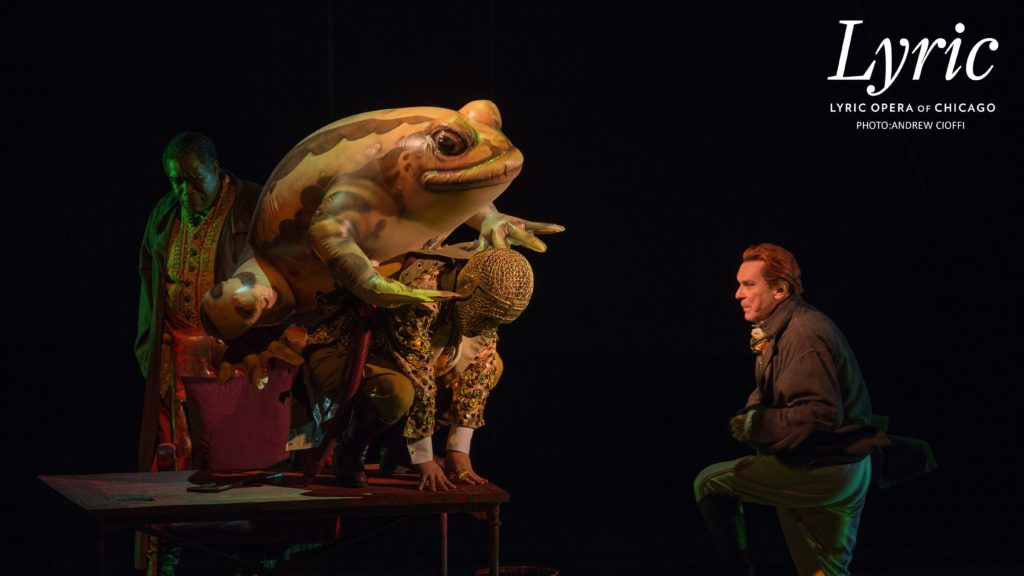 FROG INFLATABLE LYRIC OPERA OF CHICAGO