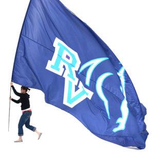 GIANT LIGHTWEIGHT FLAG RALSTON VALLEY HIGH SCHOOL
