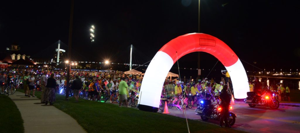Lighted Race Arch