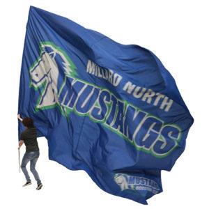 MILLARD NORTH GIANT LIGHTWEIGHT HIGH SCHOOL FLAG