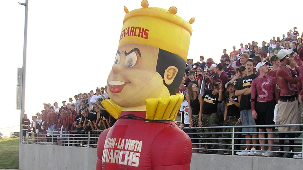 PAPPILLION MONARCH INFLATABLE MASCOT