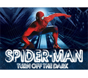 Spiderman Turn Off the Dark Logo