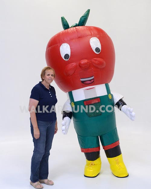 APPLE, WITH OVERALLS, 594