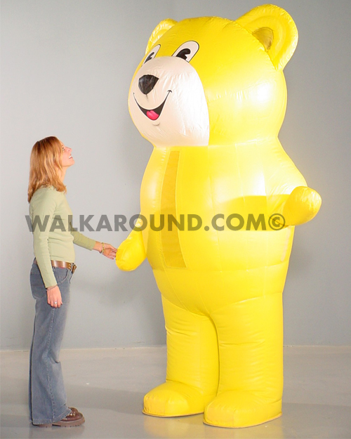 512-007 BEAR, YELLOW