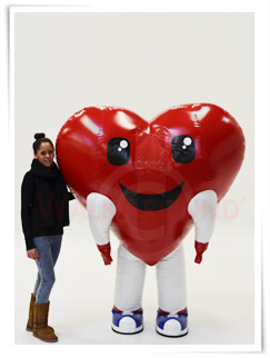 Inflatable Heart Costume