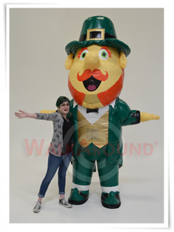 Funny Leprechaun Inflatable Costume