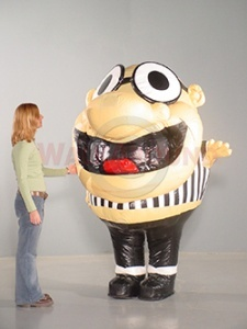 inflatable ref costume rental