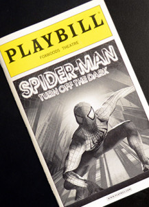 Spiderman_Broadway_Playbill