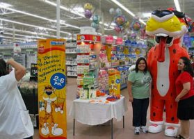 INFLATABLE CHESTER THE CHEETAH COSTUME AT WALMART