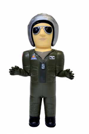 INFLATABLE AIR FORCE COSTUME