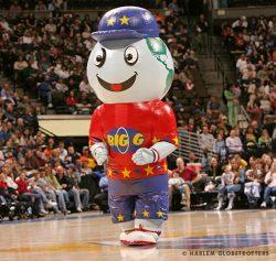 Harlem Globetrotters Inflatable Mascot