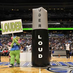 ORLANDO MAGIC INFLATABLE LOUDER TOWER